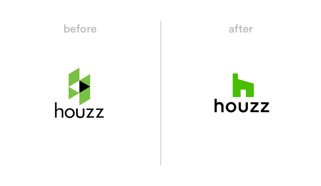 Houzz logo redesign