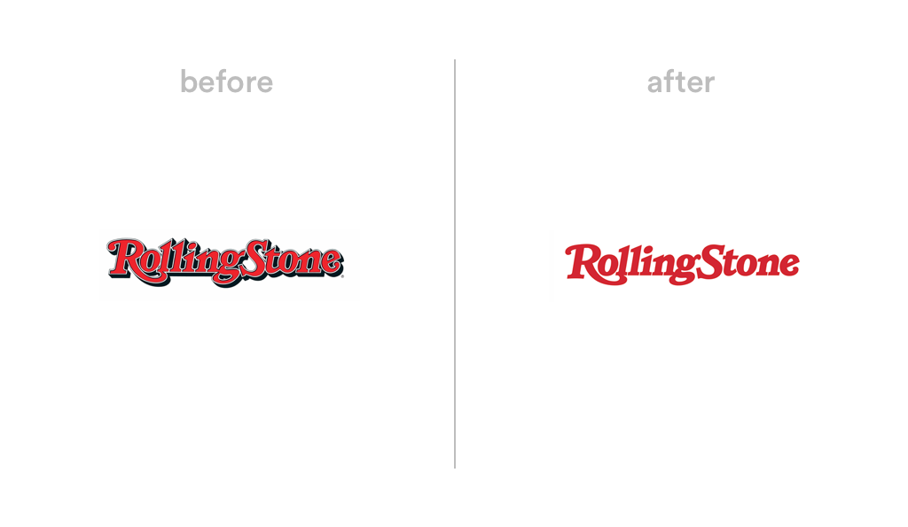 Rolling Stone logo redesign