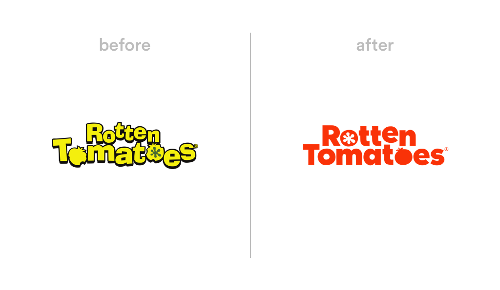 Rotten Tomatoes logo redesign