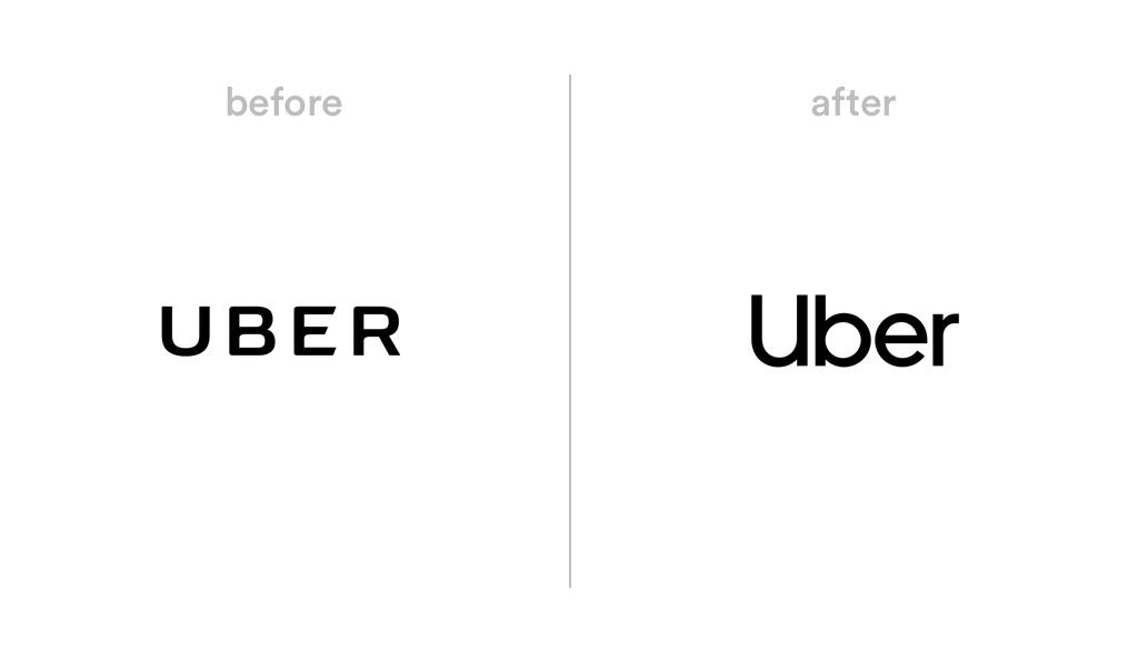 Uber logo redesign