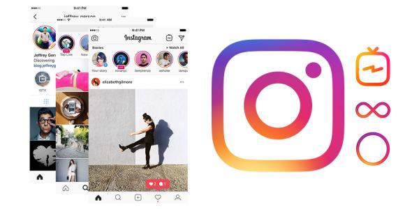 Instagram gradient logo