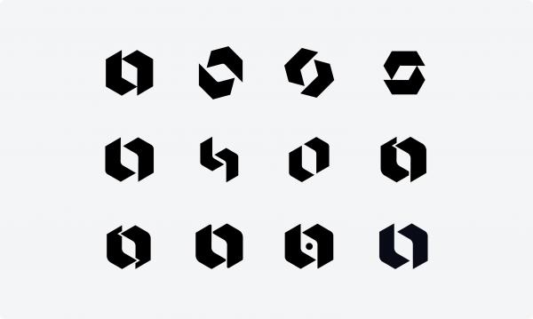 Looka symbol variations