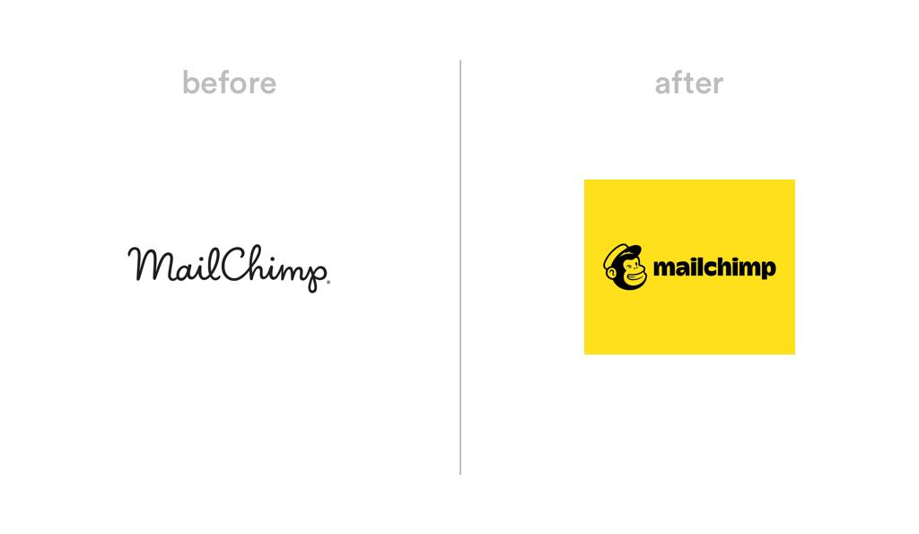 Mailchimp logo redesign 2018