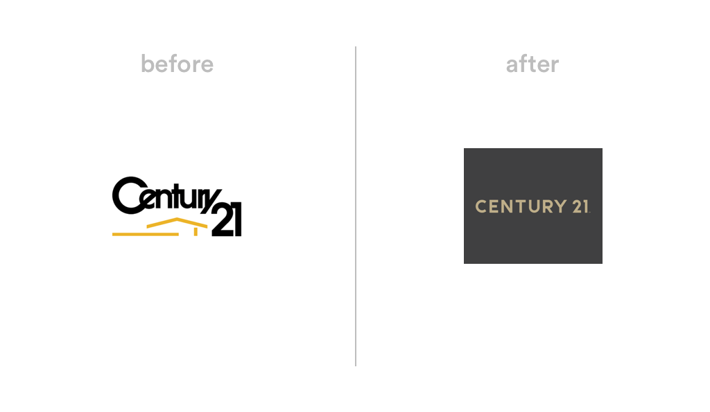Century21 logo redesign 2018
