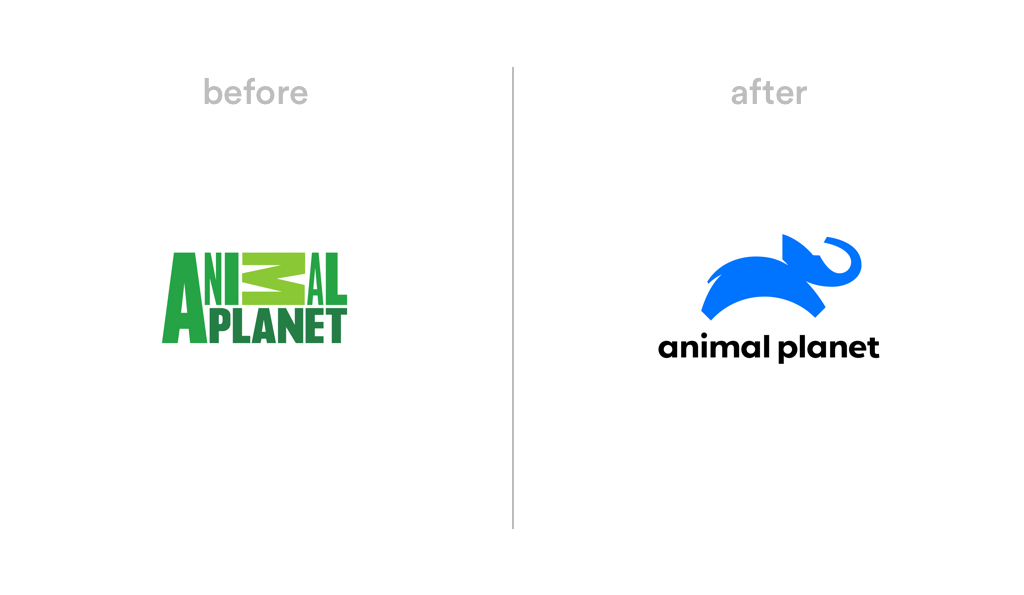 Animal Planet logo redesign