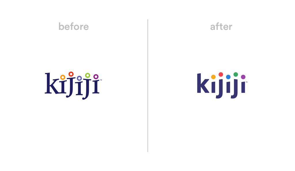 Kijiji logo redesign