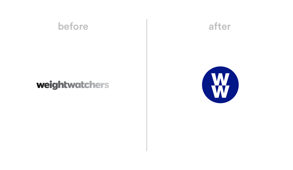 Weight Watchers logo redesign