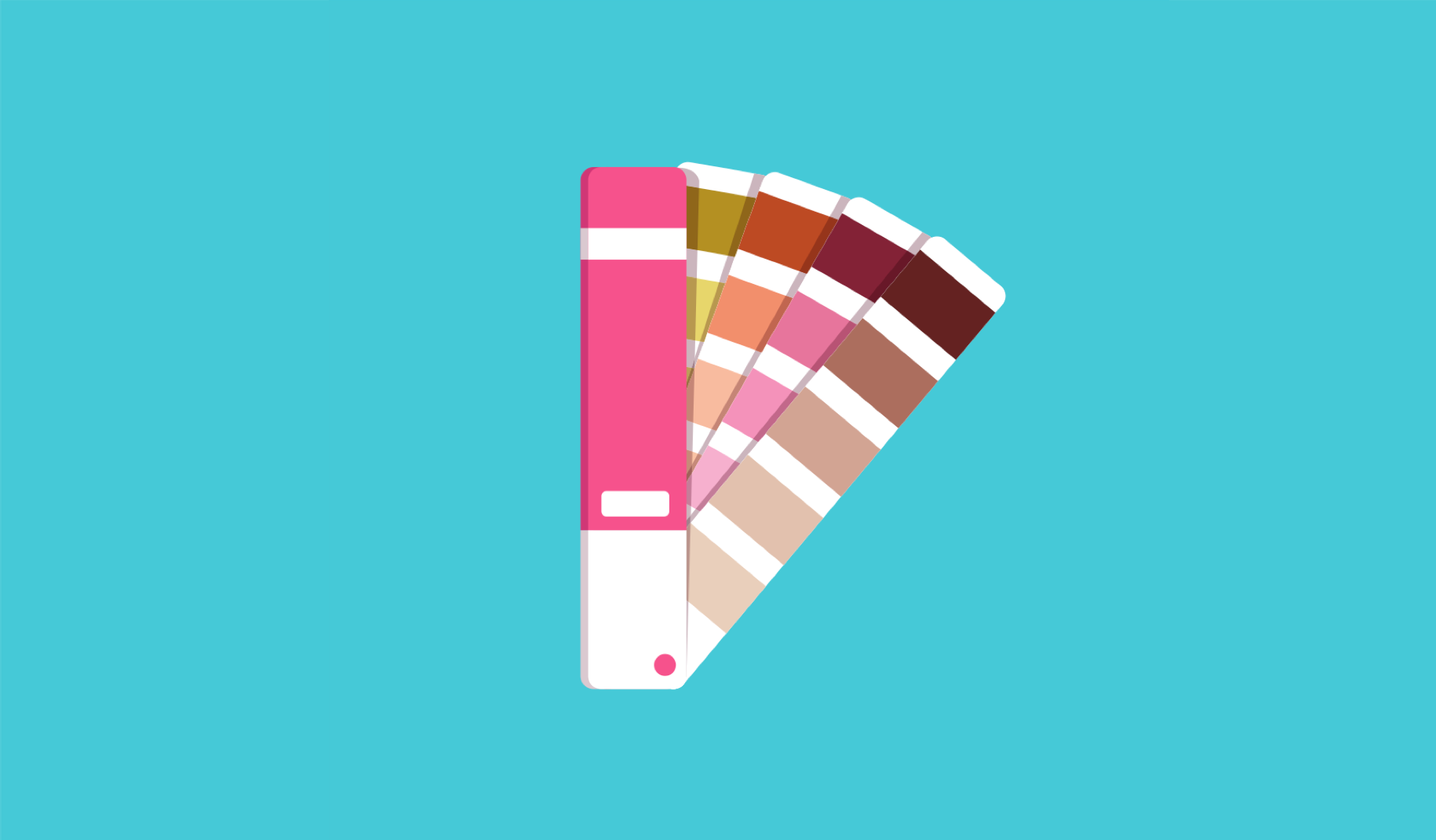 Illustration of color swatches