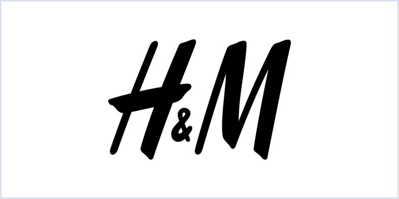 H&M monogram logo