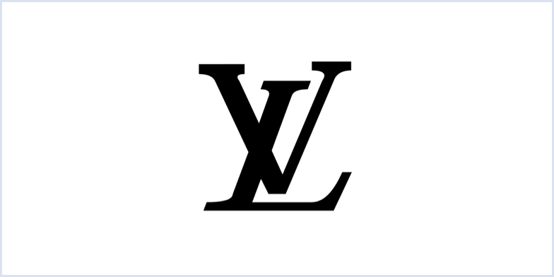 Louis Vuitton monogram logo