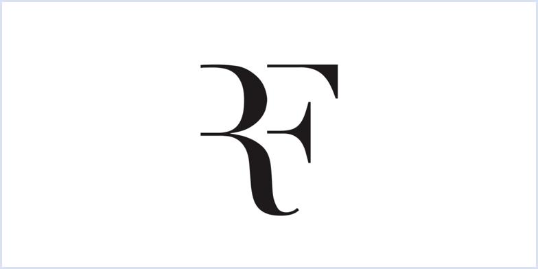 Roger Federer's monogram logo