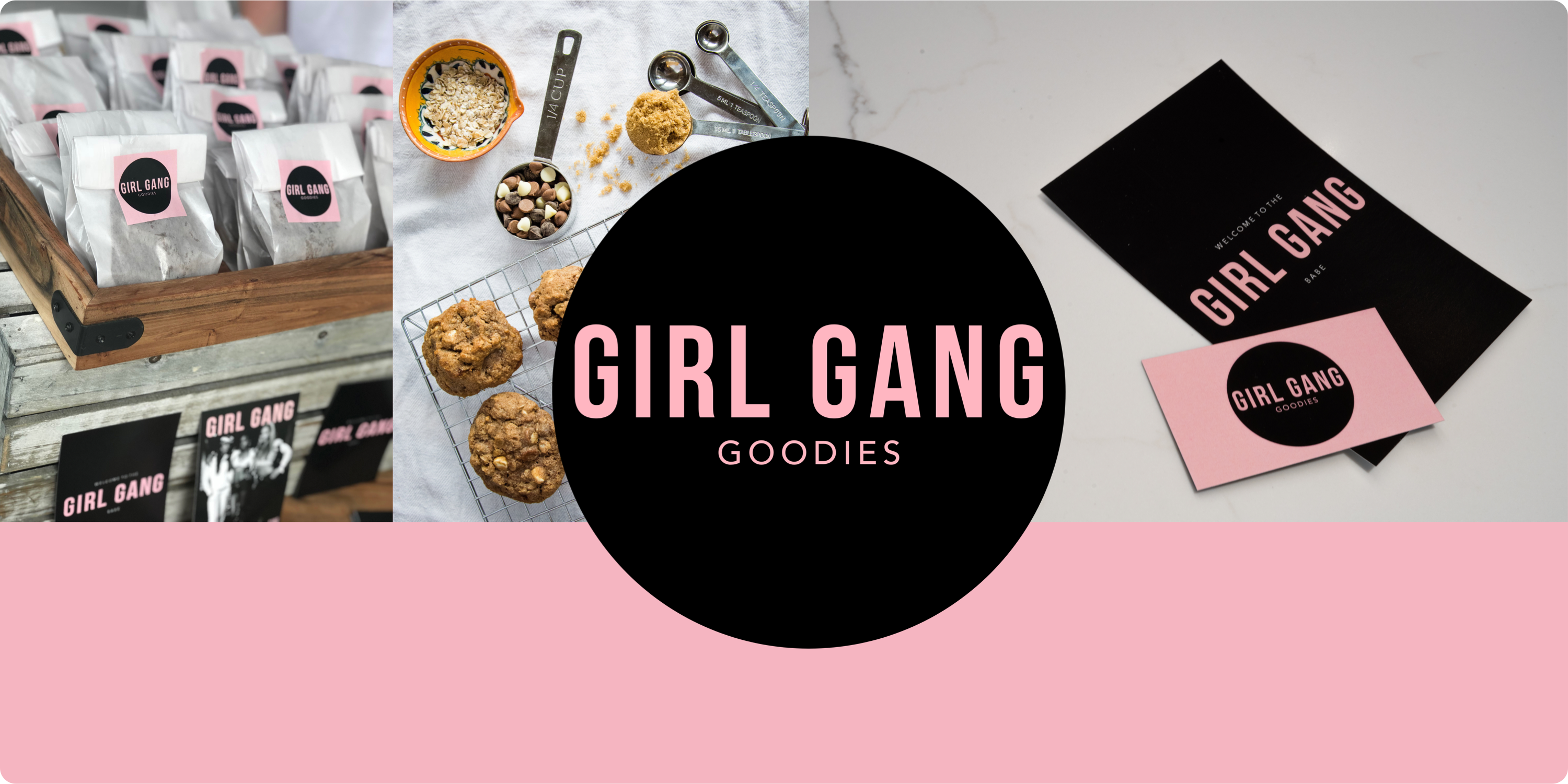Girl Gang Goodies branding