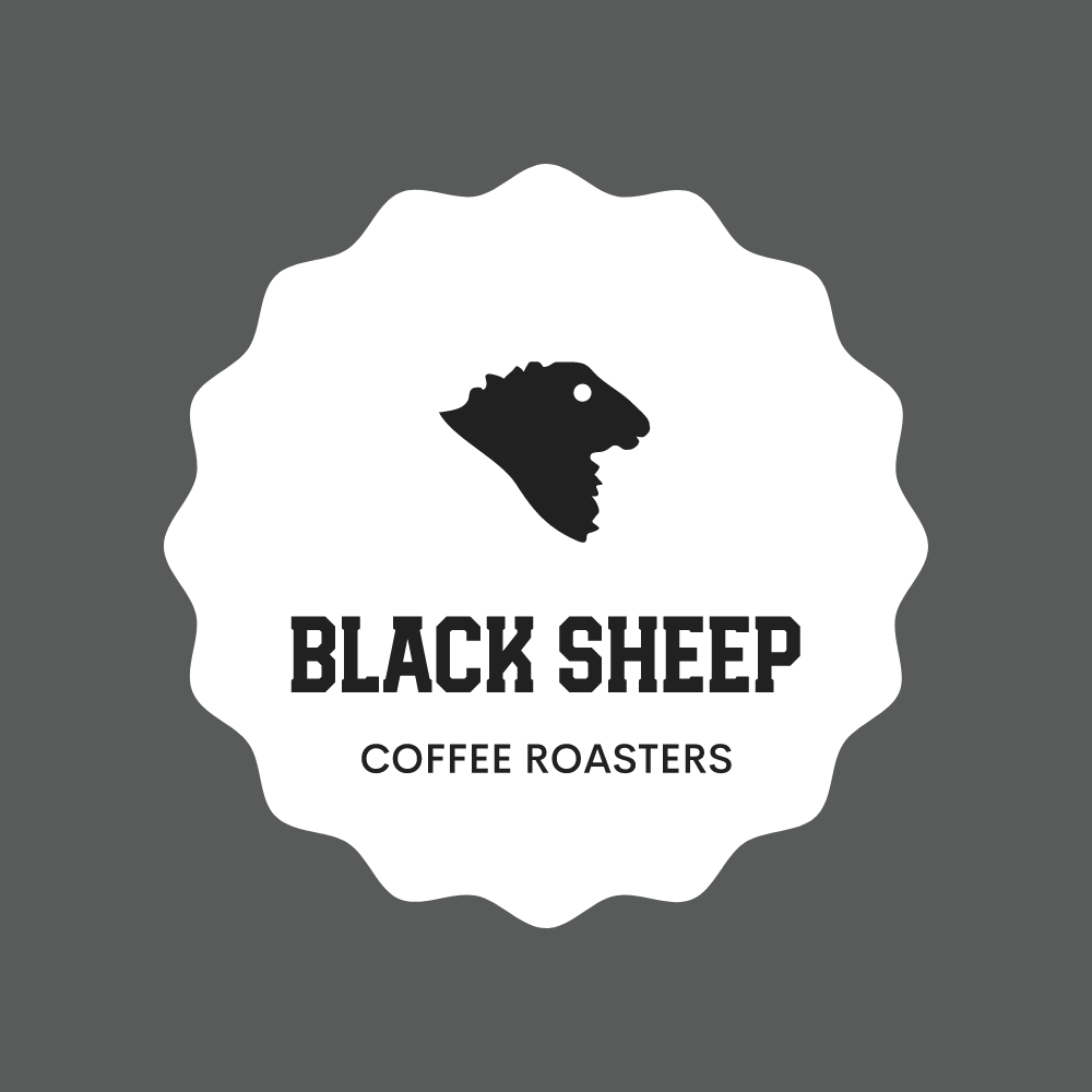 Black sheep logo with container