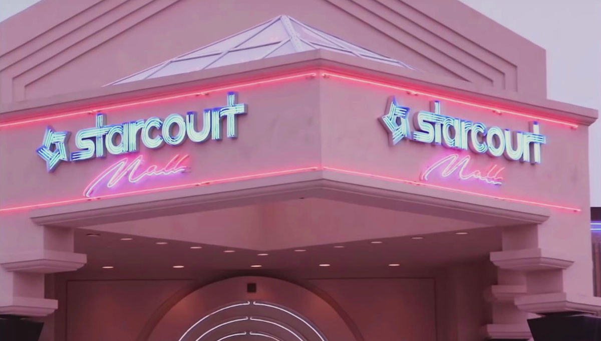 Starcourt Mall in Stranger Things 3
