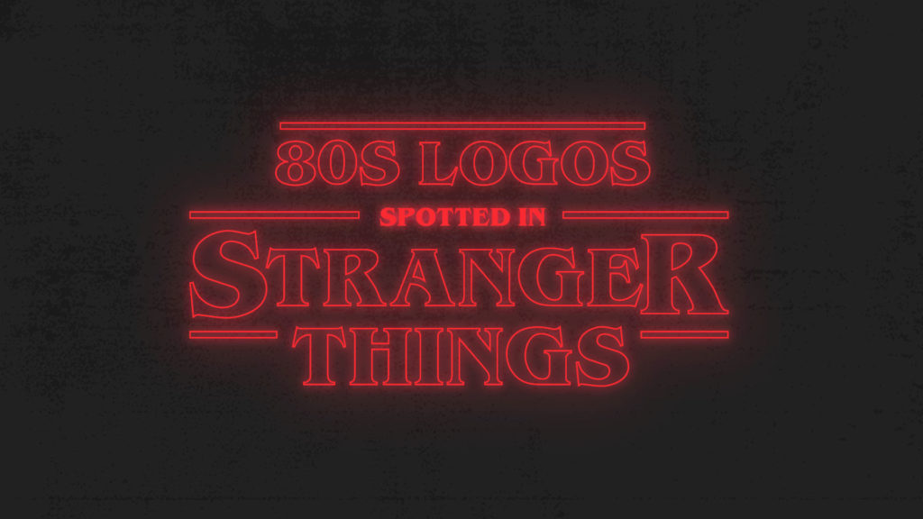 Retro 80s Logos Spotted in Stranger Things 3 - Looka