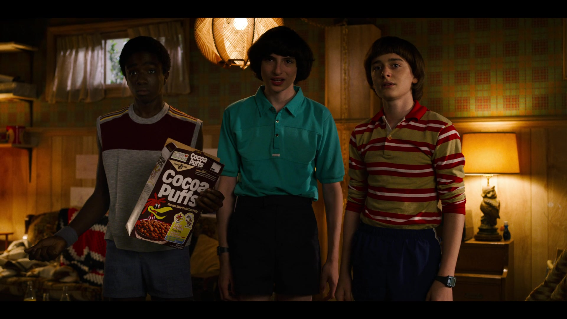 Cocoa Puffs box in Stranger Things