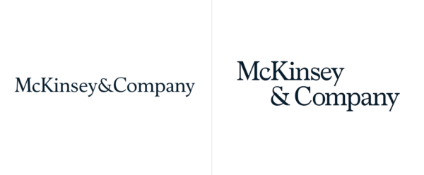 McKinsey and Company logo redesign 2019