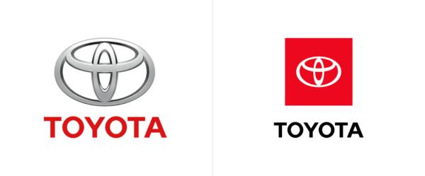 Toyota logo redesign 2019