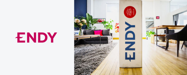 Endy packaging and branding