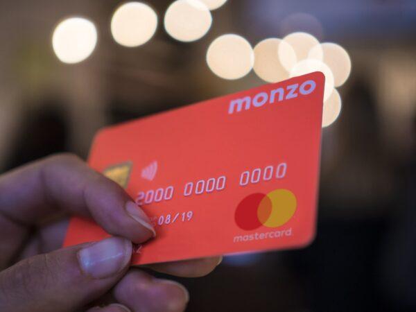 monzo branding credit card