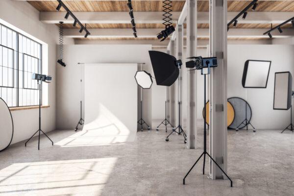 video shoot set
