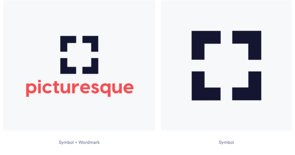 square logos made in looka