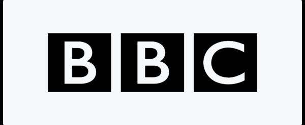 广场上的BBC标志