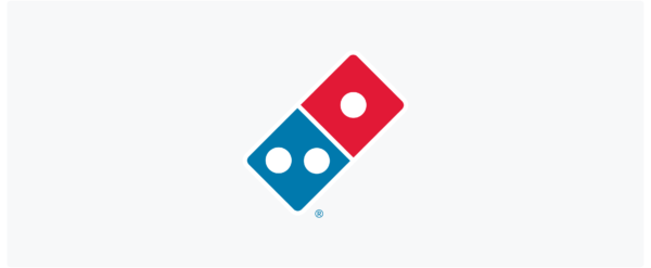 domino's pizza logo symbol