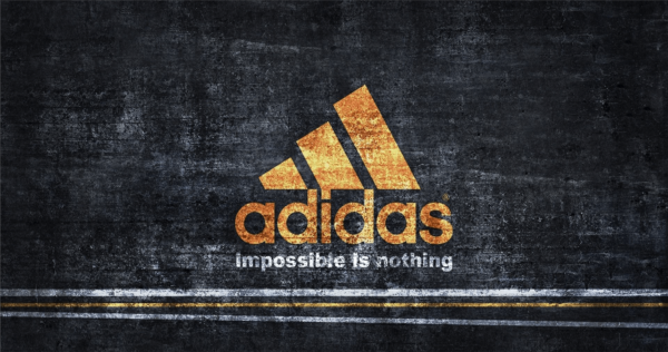 Adidas logo slogan impossible is nothing