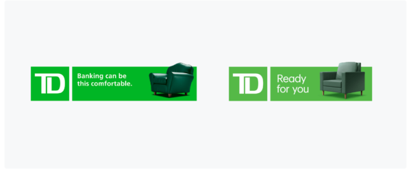 TD Bank old slogan vs new slogan