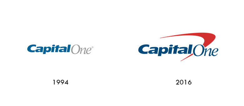 Capital One logo evolution