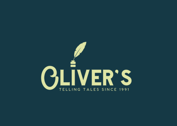 Oliver's vintage logo - made with Looka