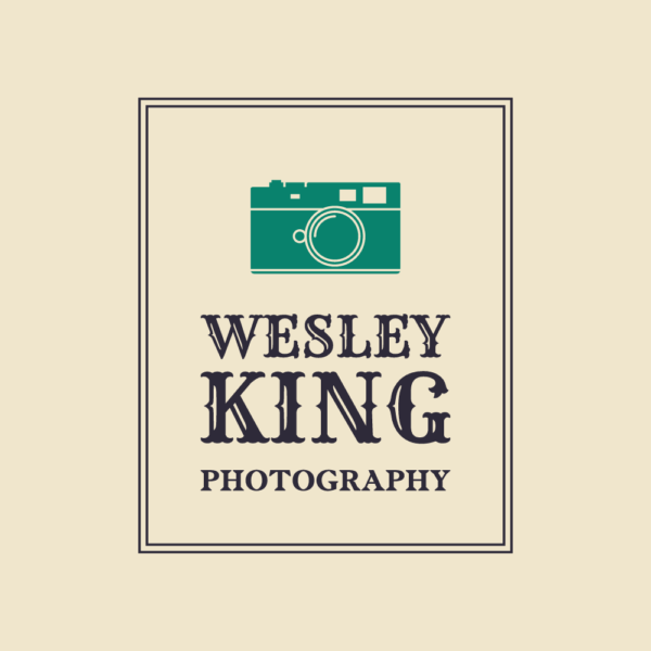 Wesley King Photography Vintage Style Logo