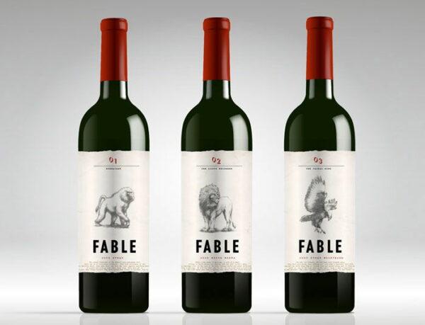 Animal wine logo