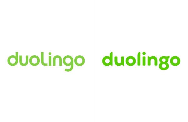 Duolingo logo redesign 2019