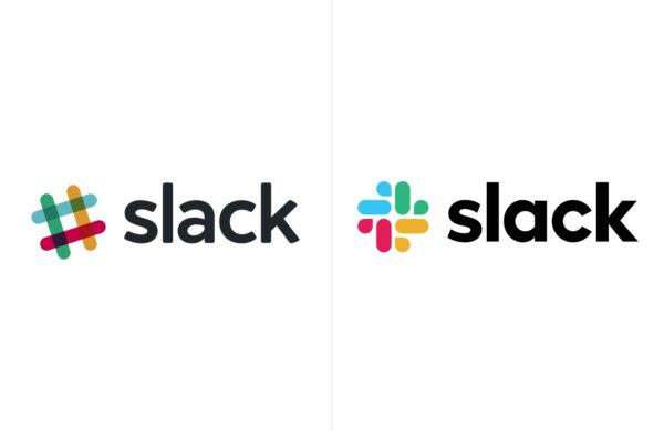 Slack logo redesign 2019