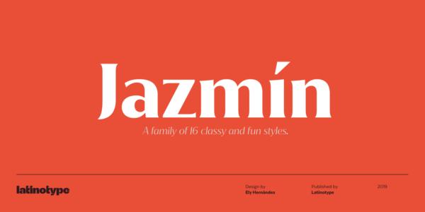 Jazmin font 2020