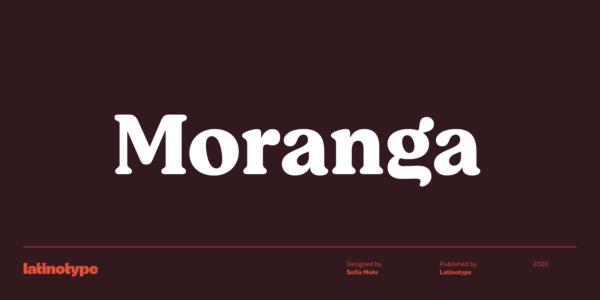 Moranga fonts 2020