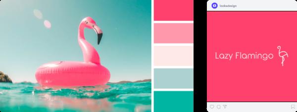 vibrant spring color palette