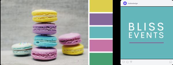 vibrant spring color scheme