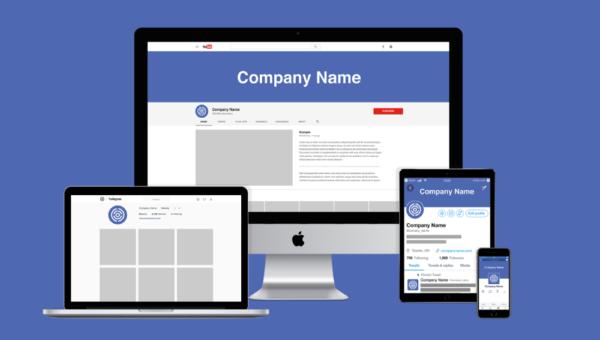 Using logos on social media