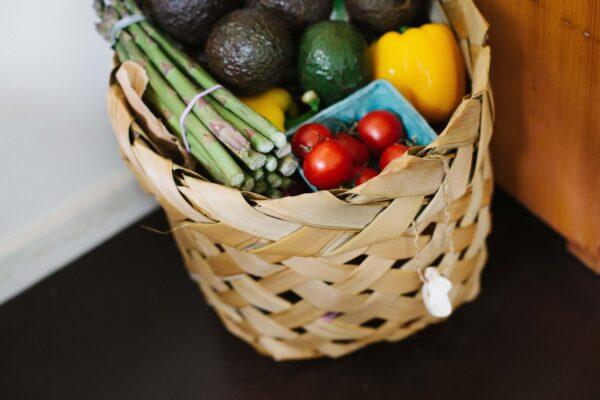 food delivery basket