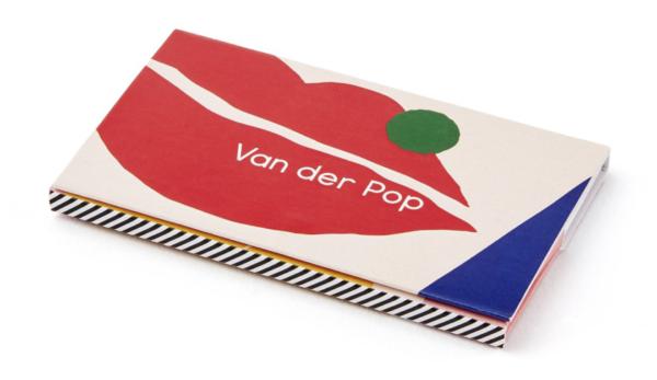 van der pop rolling paper branding