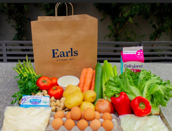 Earls grocery delivery service curing covid-19