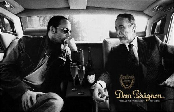 dom perignon ad with lenny kravitz
