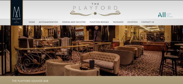 playford hotel luxury aesthetic