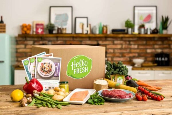 hello fresh food delivery logo