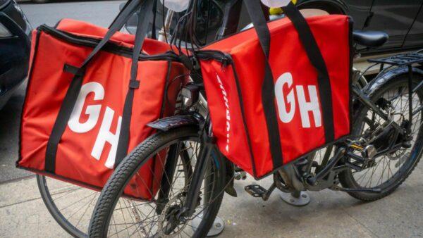 grub hub delivery logo