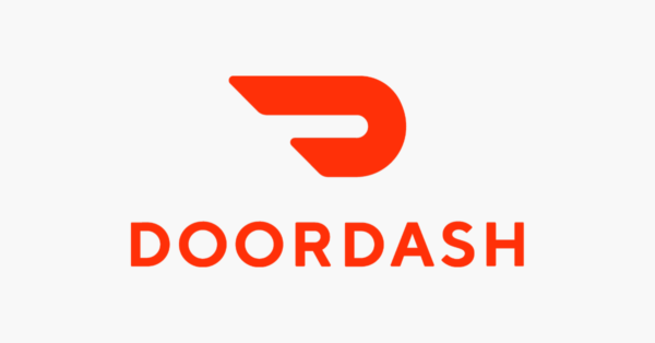 doordash food delivery logo