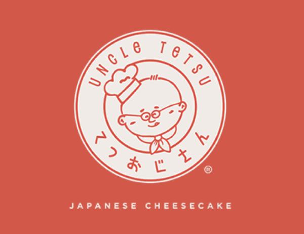 Uncle Tetsu's Cheese Cake Logo